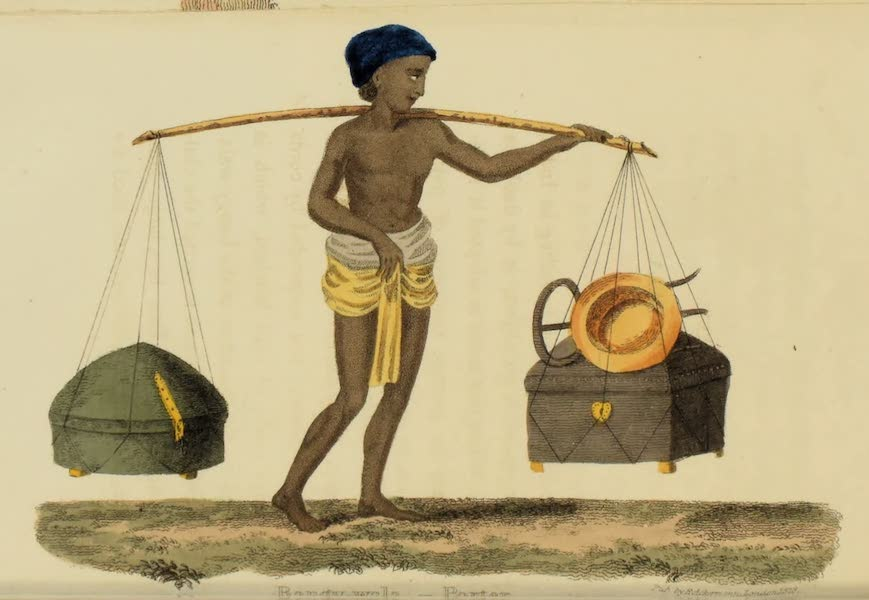 Asiatic Costumes - Bangy-Wala, Porter (1828)