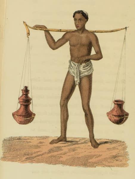 Asiatic Costumes - Dood-h-wala, or Milkman (1828)