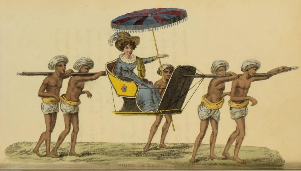 Asiatic Costumes - Tonjon (1828)