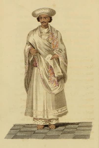 Asiatic Costumes - Moonshee, or Interpreter (1828)