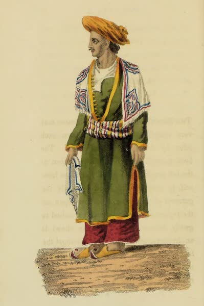 Asiatic Costumes - A Mussulman (1828)