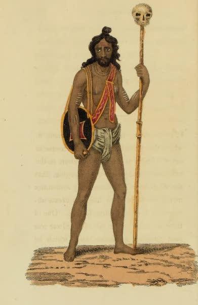 Asiatic Costumes - Fuqeer, or Begging Friar (1828)