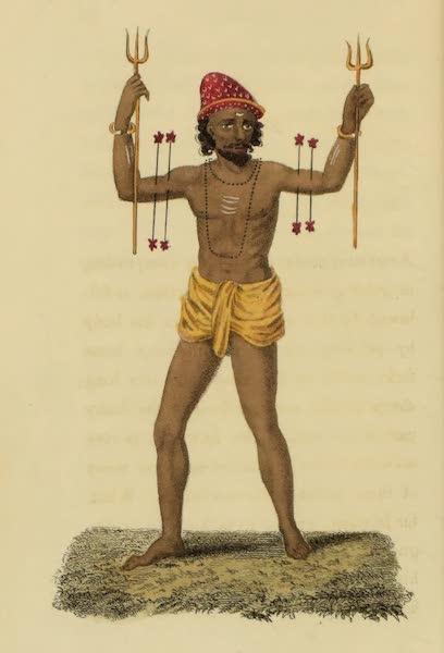 Asiatic Costumes - Fuqeer, or Enthusiast (1828)