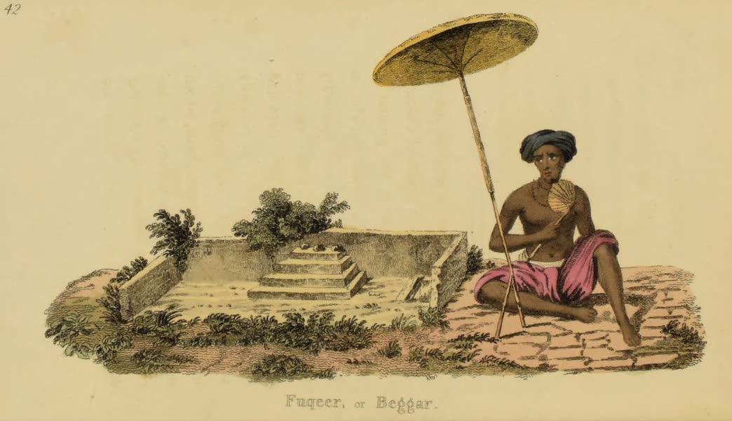 Asiatic Costumes - Fuqeer, or Beggar (1828)
