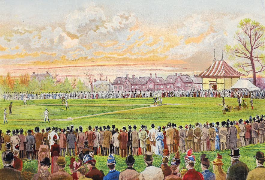 Athletic Sports in America, England and Australia - Baseball at Crystal Palace Grounds, London (1889)