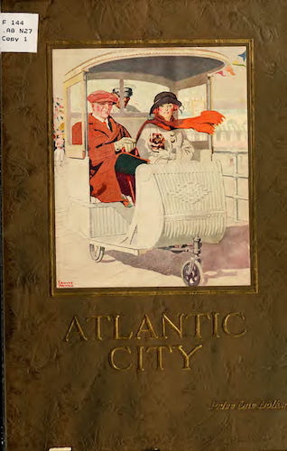 Aquatint & Lithography - Atlantic City, the World's Play Ground