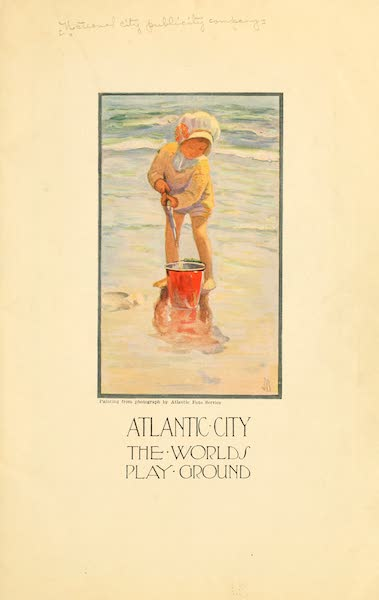 Atlantic City, the World's Play Ground - Title Page (1922)
