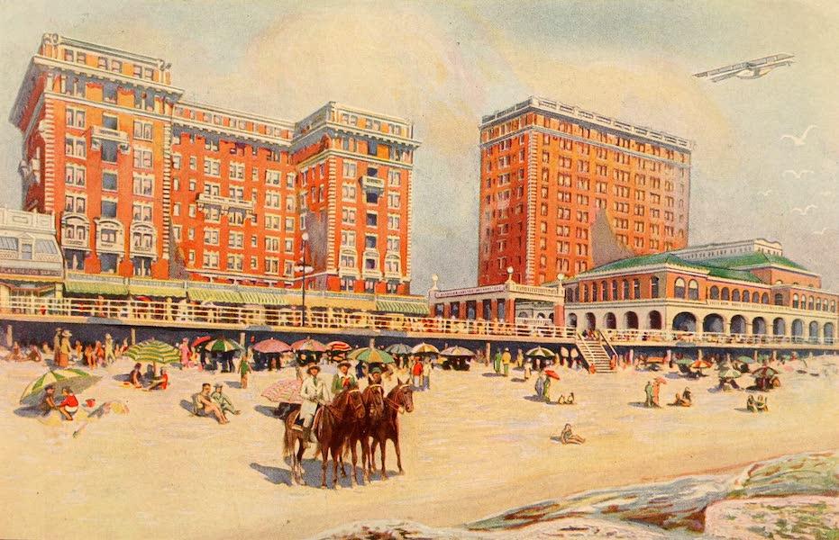 Atlantic City, the World's Play Ground - Chalfonte, Haddon Hall (1922)