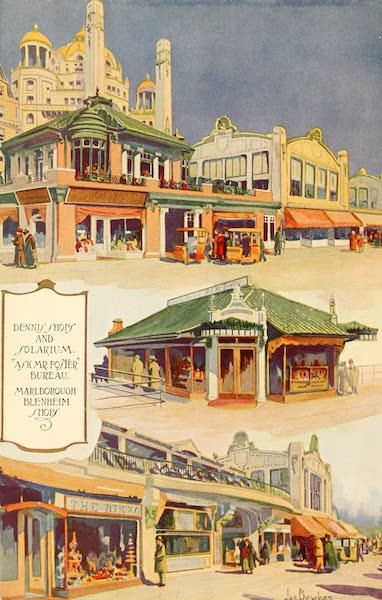 Atlantic City, the World's Play Ground - Dennis Shops and Solarium | Ask Mr Foster Bureau | Marlborough Blenheim Shops (1922)