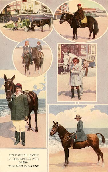 Atlantic City, the World's Play Ground - Equestrian Sports on the Bridle Path of the World's Playground (1922)