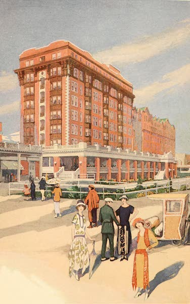 Atlantic City, the World's Play Ground - Strand Hotel (1922)