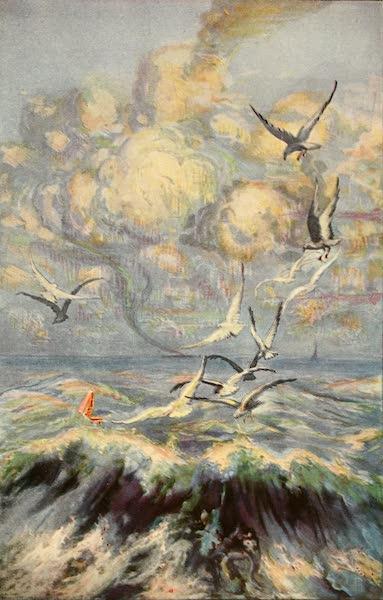 Atlantic City, the World's Play Ground - Feeding the Gulls from the Million Dollar Pier (1922)