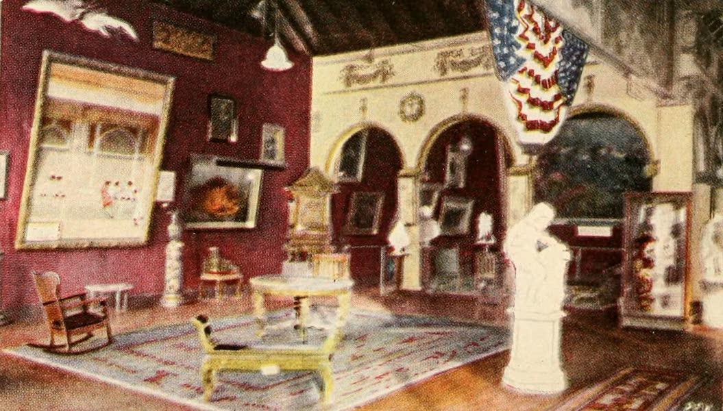Atlantic City, the World's Play Ground - Interior View of Heinz Pier (1922)