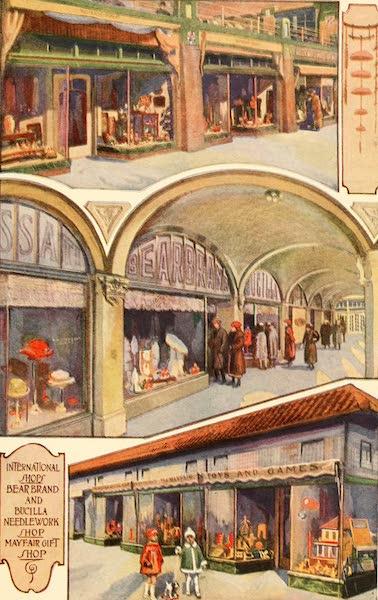 Atlantic City, the World's Play Ground - International Shops | Bear Brand and Bucilla Needlework Shop | Mayfair Gift Shop (1922)