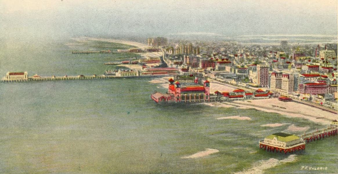 Atlantic City, the World's Play Ground - Atlantic City's Mighty Piers (1922)