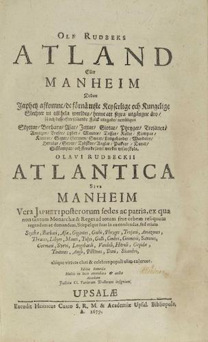 Atlantica Atland Eller Manheim (1702)
