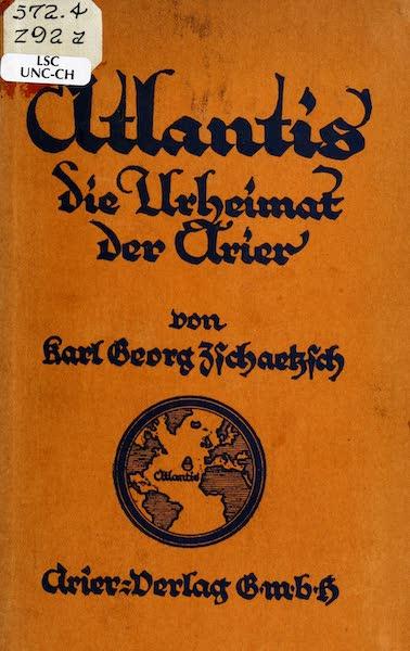 Atlantis, die Urheimat der Arier - Front Cover (1922)