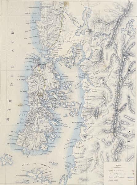 Atlas de Historia fisica y Politica de Chile Vol. 1 - Provincia de Chloe (1854)