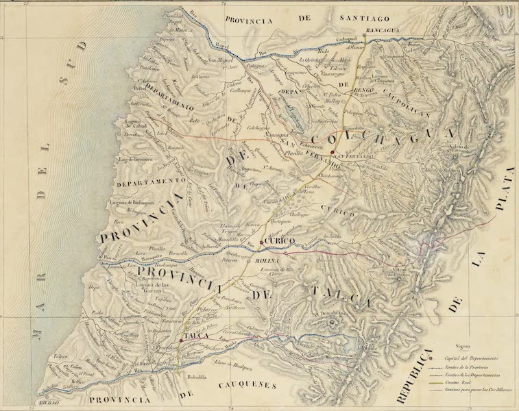 Provincias de Talca y de Colchaqua
