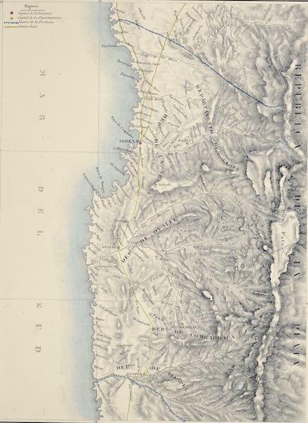 Atlas de Historia fisica y Politica de Chile Vol. 1 - Provincia de Coquimbo (1854)