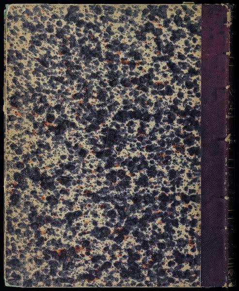 Atlas de Historia fisica y Politica de Chile Vol. 1 - Back Cover (1854)