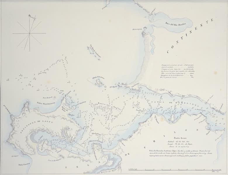 Plano del Puerto de San Carlos