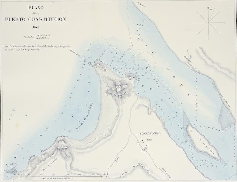 Plano del Puerto Constitucion (1841)