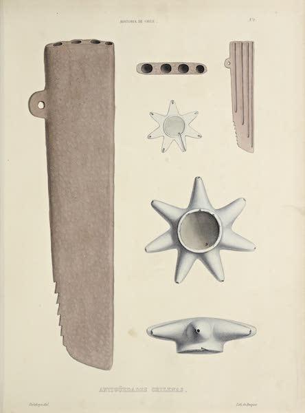Atlas de Historia fisica y Politica de Chile Vol. 1 - Antiguedades Chileanas [II] (1854)