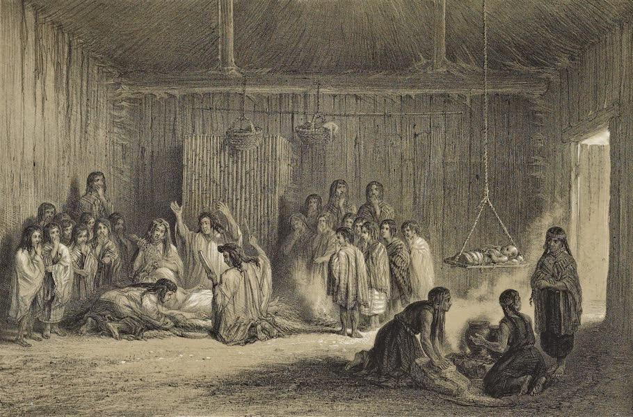 Atlas de Historia fisica y Politica de Chile Vol. 1 - Un Matchuitun Modo de Curar los Enfermos (1854)