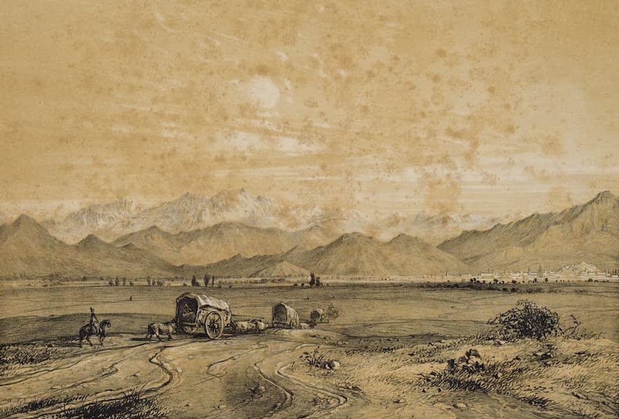 Atlas de Historia fisica y Politica de Chile Vol. 1 - Santiago (1854)