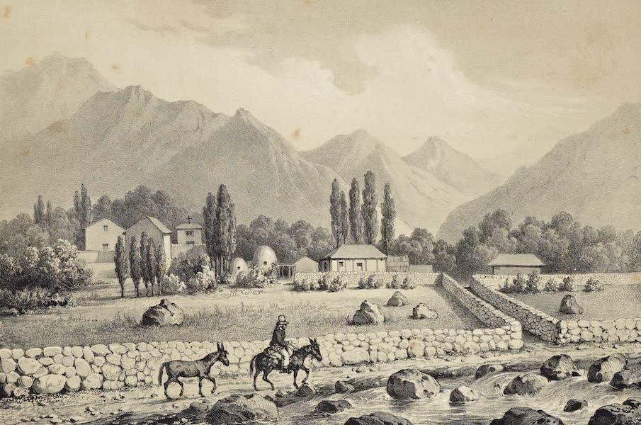 Atlas de Historia fisica y Politica de Chile Vol. 1 - Guanta Valle de Coquimbo (1854)