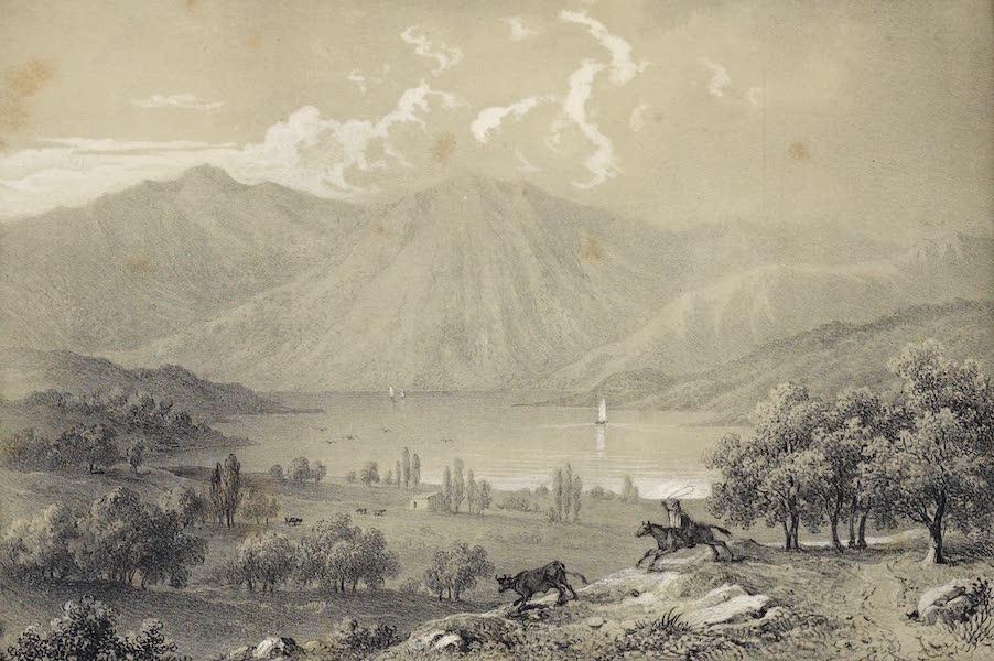 Atlas de Historia fisica y Politica de Chile Vol. 1 - Laguna de Aculeu (1854)
