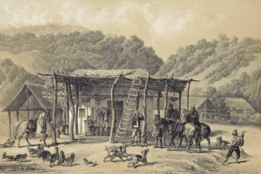 Atlas de Historia fisica y Politica de Chile Vol. 1 - Un Bodegon (1854)
