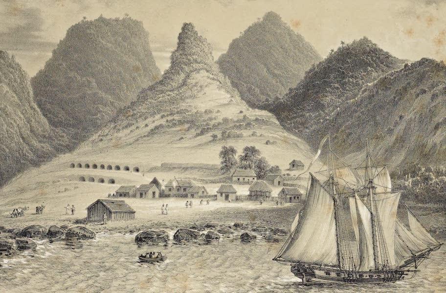 Atlas de Historia fisica y Politica de Chile Vol. 1 - Presidio de la Isla de Juan Fernandes (1832) (1854)