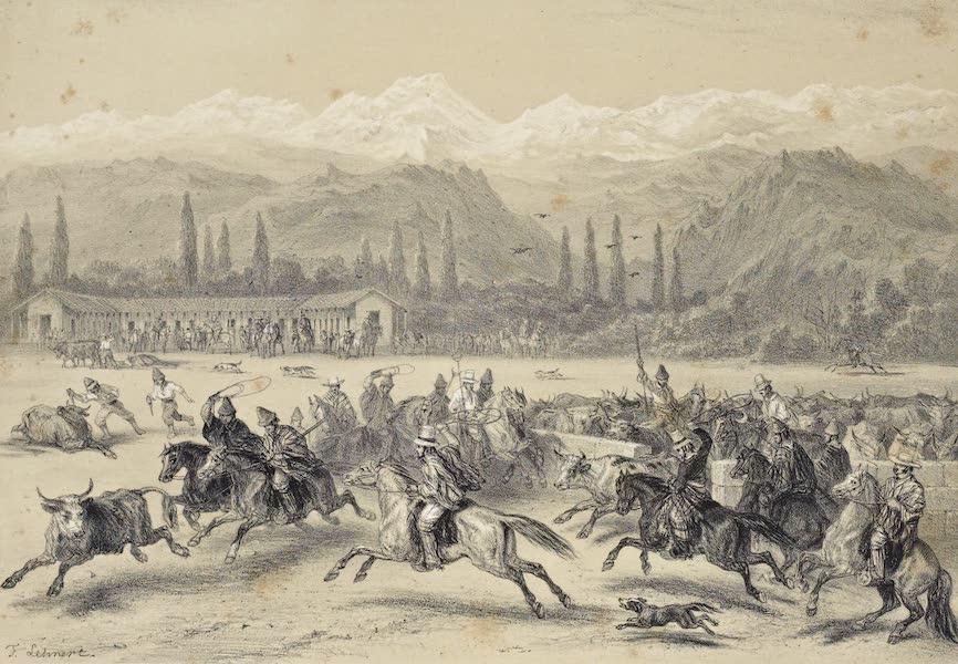 Atlas de Historia fisica y Politica de Chile Vol. 1 - Una Matanza (1854)