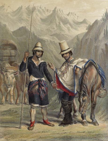 Atlas de Historia fisica y Politica de Chile Vol. 1 - Carretero and Capataz (1854)