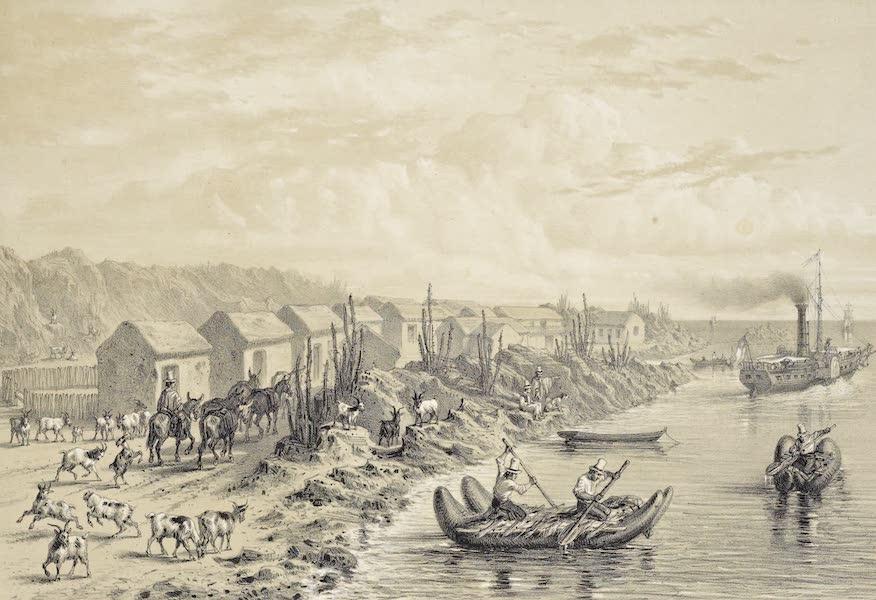 Atlas de Historia fisica y Politica de Chile Vol. 1 - Puerto del Huasco (1854)