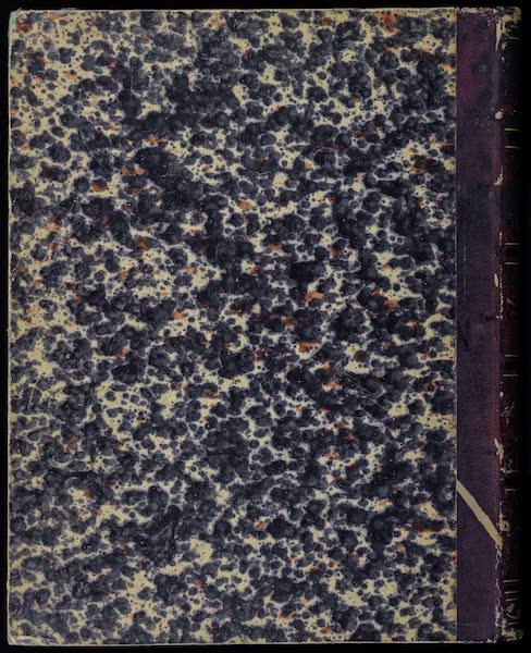 Atlas de Historia fisica y Politica de Chile Vol. 2 - Back Cover (1854)
