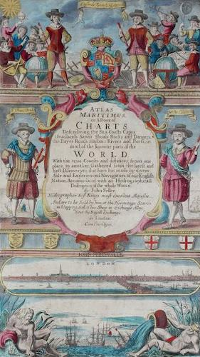 English - Atlas Maritimus, or a Book of Charts