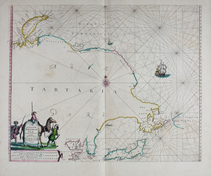 A chart of the Tartarian sea from Nova Zemla to lapan