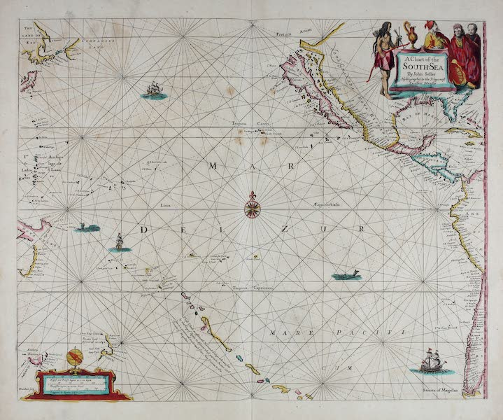 A chart of the South-sea