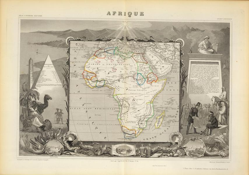 Atlas National Illustre - Afrique (1856)