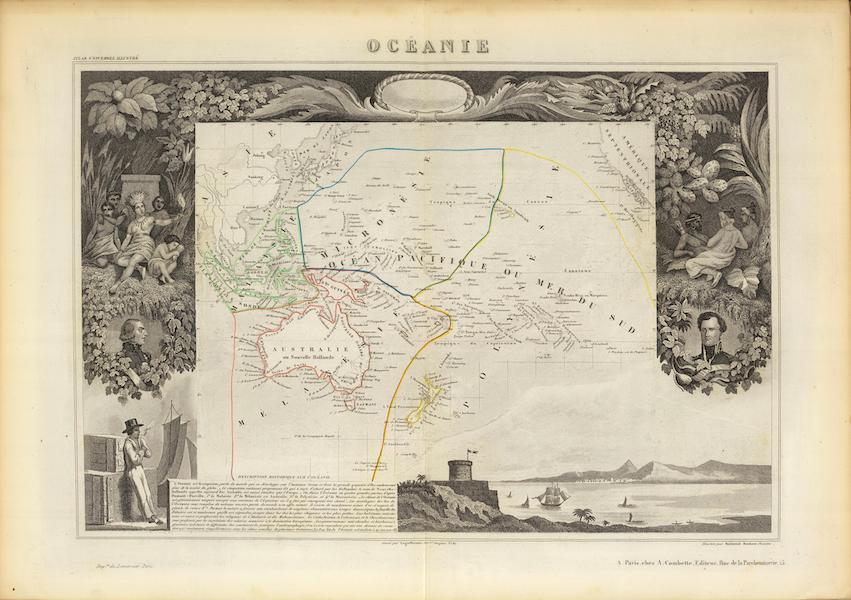 Atlas National Illustre - Oceanie (1856)