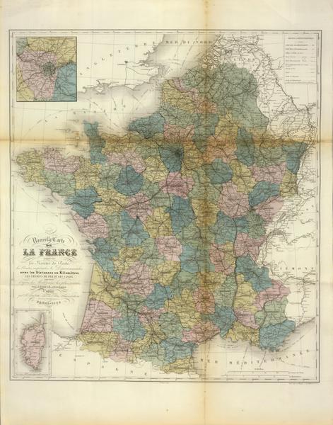 Atlas National Illustre - La France (1856)