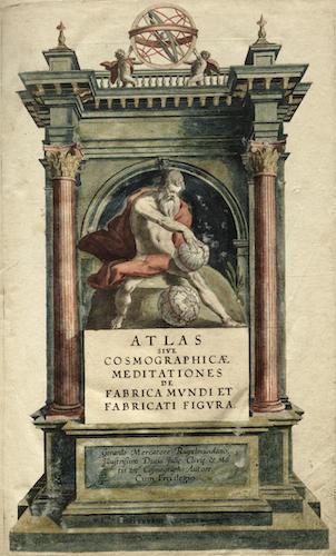 Latin - Atlas sive Cosmographicae