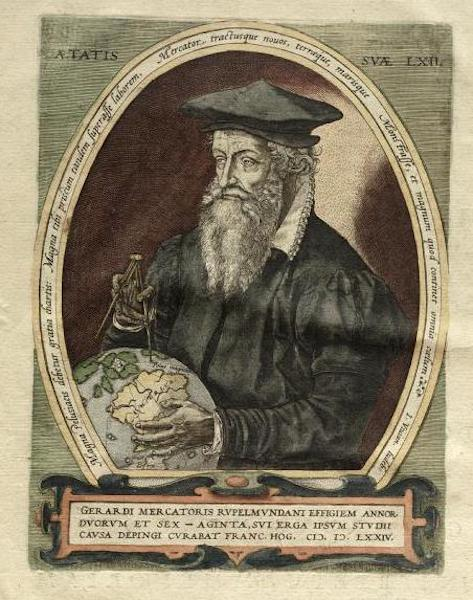 [Portrait of Gerard Mercator]