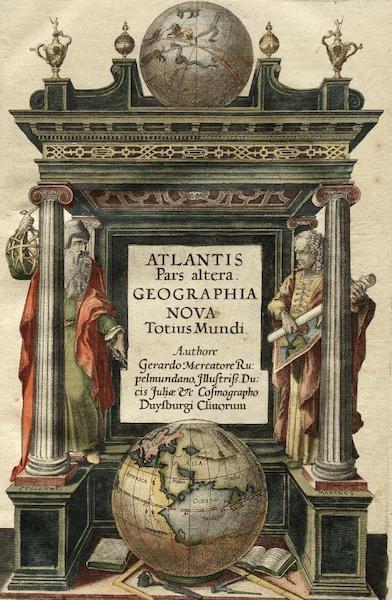 Atlantis pars Altera Geographia Nova Toius Mundi