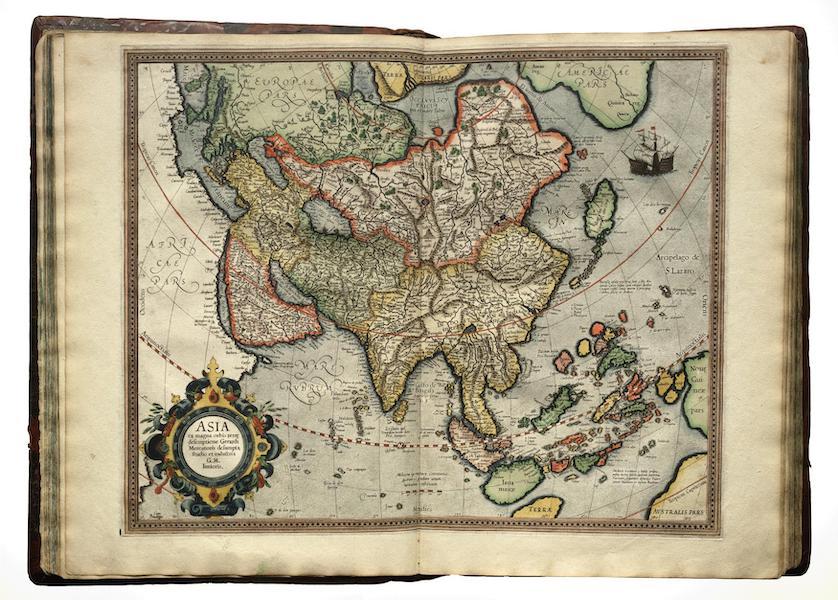Atlas sive Cosmographicae - Asia (1595)