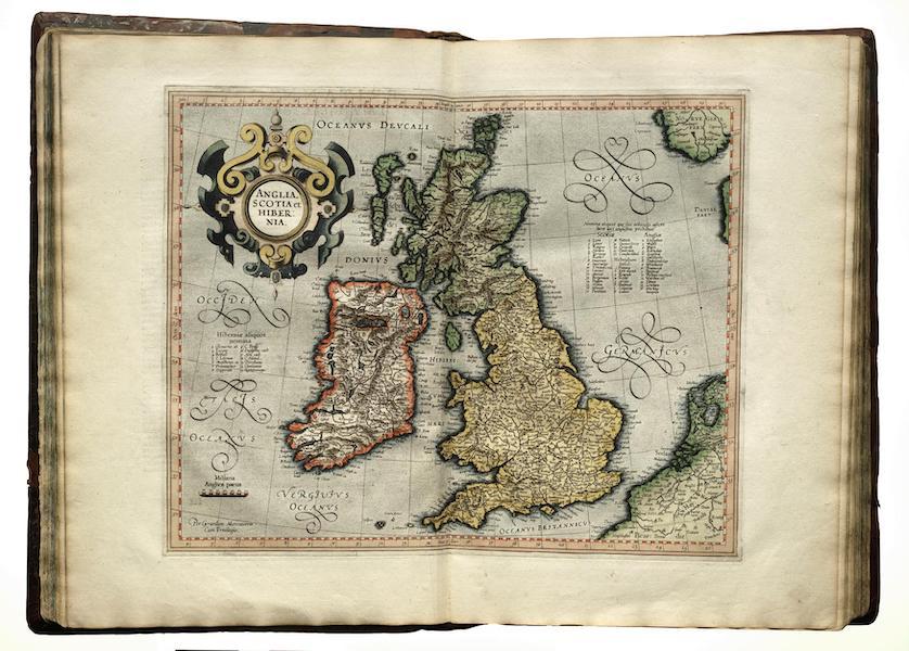 Brittanicæ Insula, Anglia, Scotia & Hibernia