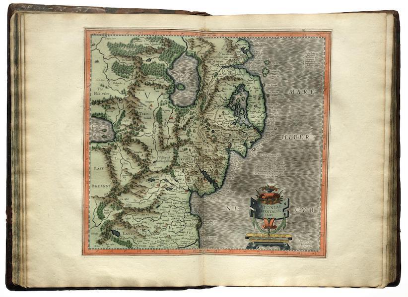 Atlas sive Cosmographicae - Hibernia [IV] (1595)